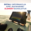 "Kodėl verta rinktis ,,Raymarine Element"" valties echolotą?"
