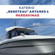 """Katerio """"Beneteau"""" Antares 6 katerio pardavimas"""