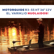 """,,Motorguide R3"""" elektrinio valties variklio akcija"""