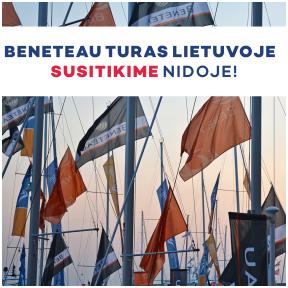 """,,Beneteau"""" turas Lietuvoje"""
