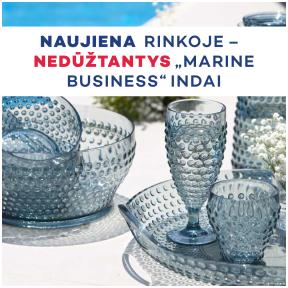 """Naujiena rinkoje - nedūžtantys ,,Marine Business"""" indai"""