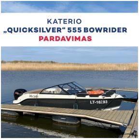 """Katerio """"Quicksilver"""" 555 Bowrider"""