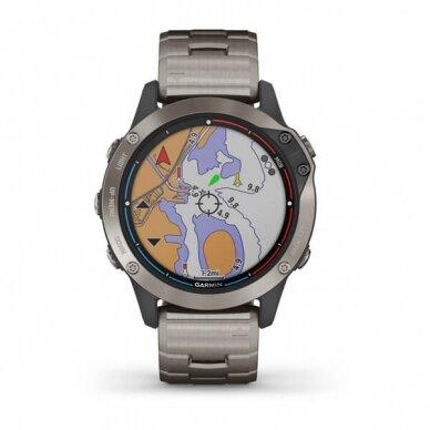 GARMIN išmanusis laikrodis Quatix 6 Titanium 2