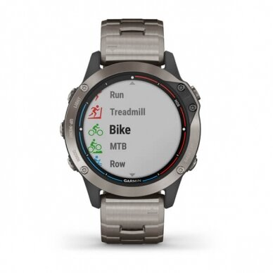 GARMIN išmanusis laikrodis Quatix 6 Titanium 4