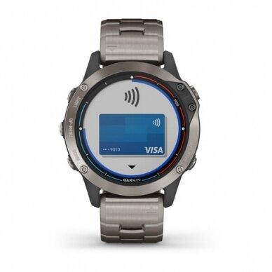 GARMIN išmanusis laikrodis Quatix 6 Titanium 6