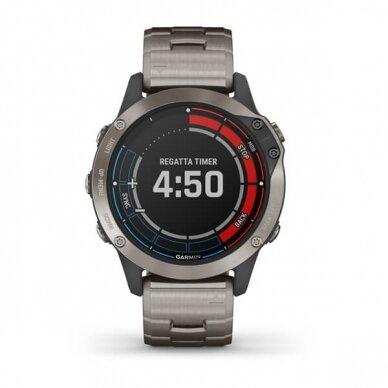 GARMIN išmanusis laikrodis Quatix 6 Titanium 7