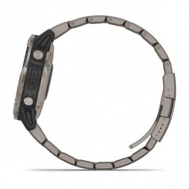 GARMIN išmanusis laikrodis Quatix 6 Titanium 8
