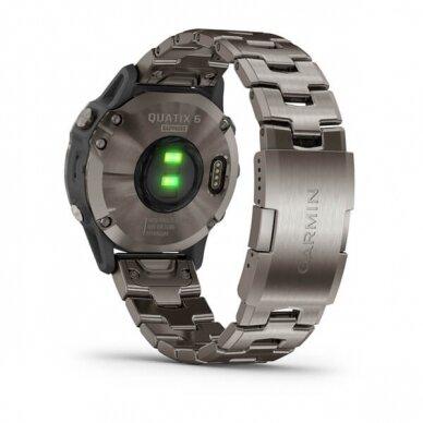 GARMIN išmanusis laikrodis Quatix 6 Titanium 9