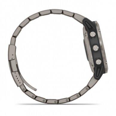 GARMIN išmanusis laikrodis Quatix 6 Titanium 10