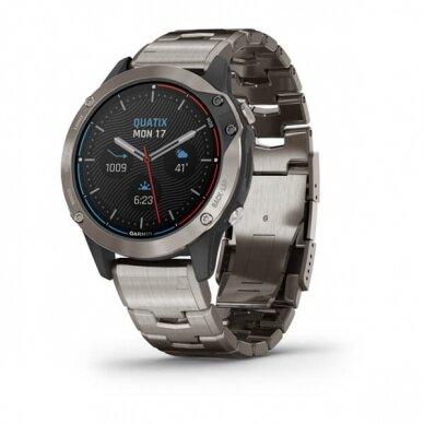 GARMIN išmanusis laikrodis Quatix 6 Titanium