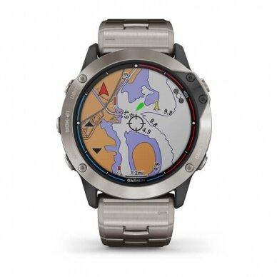 GARMIN išmanusis laikrodis Quatix 6X Solar 3