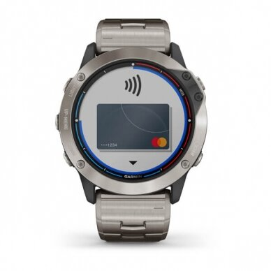 GARMIN išmanusis laikrodis Quatix 6X Solar 7