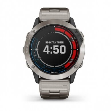 GARMIN išmanusis laikrodis Quatix 6X Solar 8