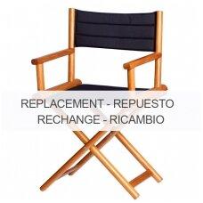 Kėdės Director sėdynės pakeičiamas užvalkalas - mėlyna