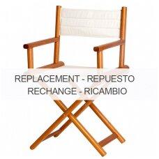 Kėdės Director sėdynės pakeičiamas užvalkalas - smėlio spalva