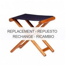 Kėdės sėdynės pakeičiamas užvalkalas - mėlyna