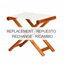 Kėdės sėdynės pakeičiamas užvalkalas - smėlio spalva