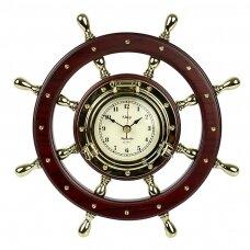 Laikrodis - medinis vairas