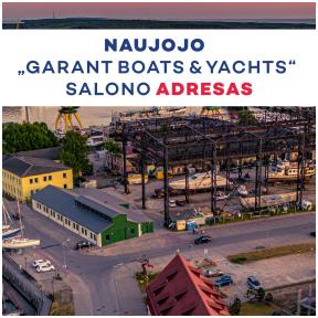 "Keičiasi ""Garant Boats & Yachts"" salono ir serviso adresas!"