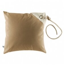 Neperšlampamų pagalvėlių rinkinys - tamsi smėlio spalva