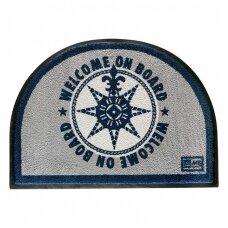 Neslystantis kilimėlis, mėlynas