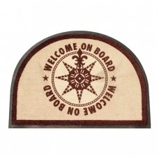 Neslystantis kilimėlis, rudas