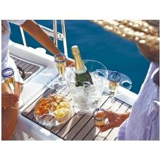 Party šampano taurių padėklas