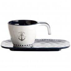 Sailor Soul espresso puodelių ir lėkštučių rinkinys