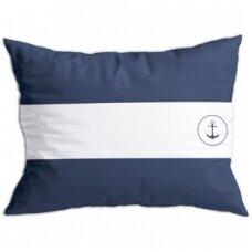 Santorini pagalvėlių rinkinys, balta/mėlyna spalvos
