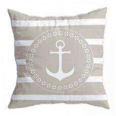 Santorini pagalvėlių rinkinys, balta/smėlio spalvos