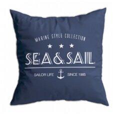Santorini pagalvėlių rinkinys, mėlynos