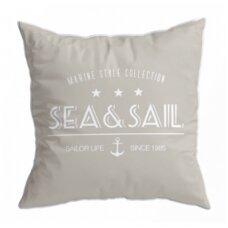 Santorini pagalvėlių rinkinys, smėlio spalvos