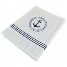 Santorini pagalvės ir antklodės užtiesalų rinkinys, balta