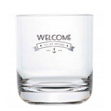 Skaidrios vandens stiklinės Party - welcome to life