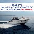 """Su ,,Azimut Atlantis 34"""" jūra – Jūsų rankose"""