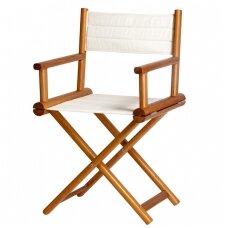 Sulankstoma Director kėdė - smėlio spalva