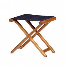 Sulankstoma kėdė - mėlyna spalva
