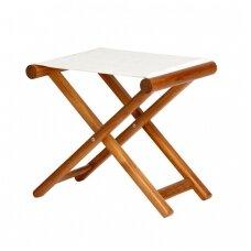 Sulankstoma kėdė - smėlio spalva