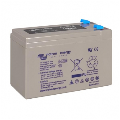 """Victron Energy"" akumuliatorius AGM Deep Cycle Batt. 12V/10"