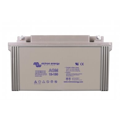 """Victron Energy"" akumuliatorius AGM Deep Cycle Batt. 12V/130"
