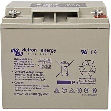 """""""Victron Energy"""" akumuliatorius AGM Deep Cycle Batt. 12V/22"""