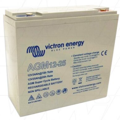 """Victron Energy"" akumuliatorius AGM Deep Cycle Batt. 12V/25"